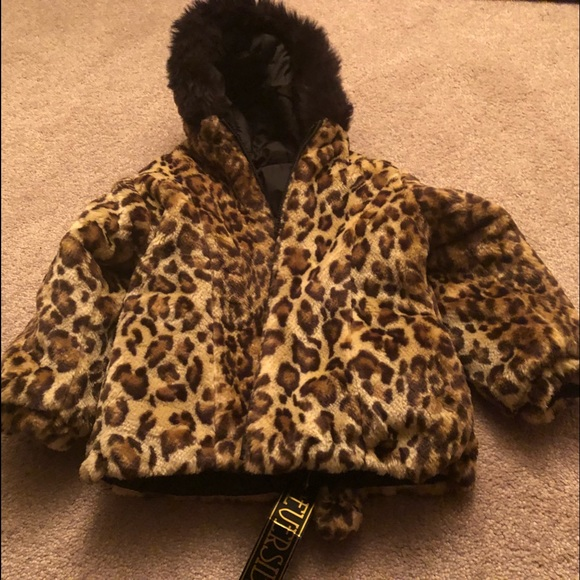 Big Chill Girls Reversable Jacket Size 24 Months Nwt Outerwear
